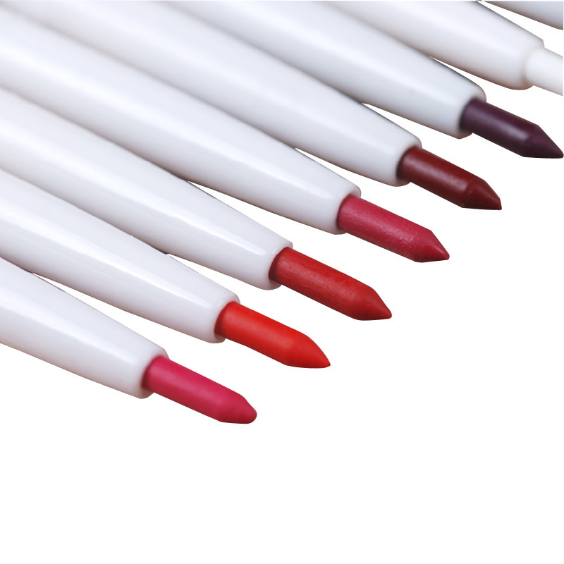 automatic rotary lip liner long-lasting natural brand makeup sexy products lady waterproof beauty 2019 lip pencil
