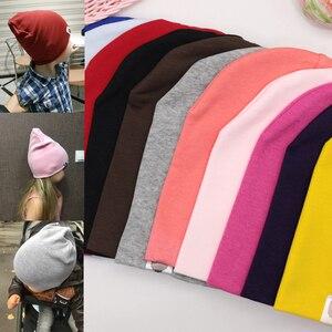 Novo bebê rua dança hip hop chapéu algodão primavera outono criança chapéu cachecol para meninos meninas boné inverno quente cor sólida crianças chapéu