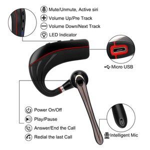 Image 3 - Più nuovo B1 Cuffie Senza Fili Bluetooth 5.0 Auricolare con microfono riduzione del Rumore Auricolare Bluetooth con microfono per tutti i Telefoni Intelligenti