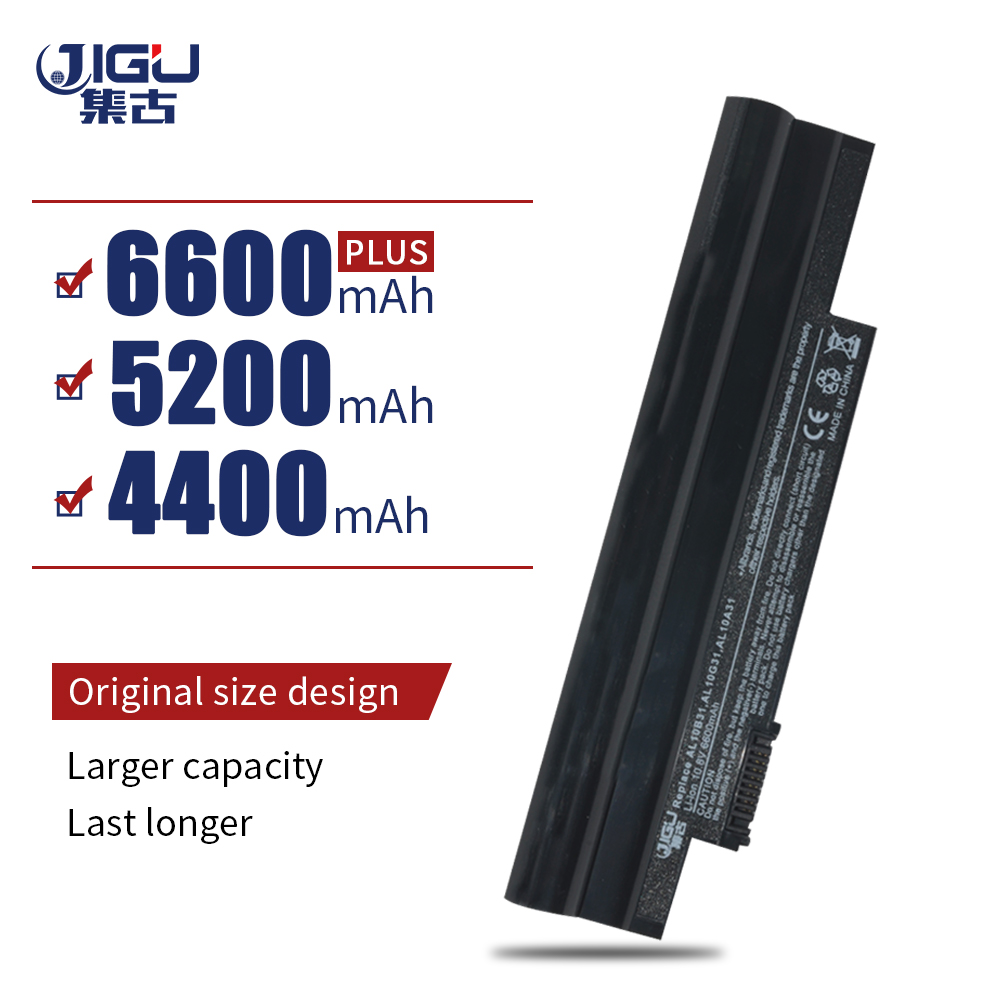 JIGU Battery For Acer Aspire One 522 D255 722 AOD255 AOD260 D255E D257 D257E D260 D270 E100 AL10A31 AL10B31 AL10G31