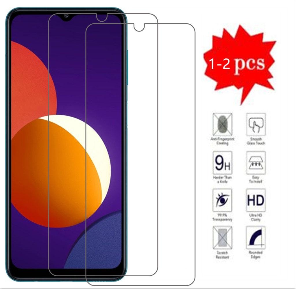 Закаленное стекло 9H для Samsung Galaxy M12, Высококачественная Защитная пленка для экрана телефона, Защитное стекло для Samsung Galaxy M12