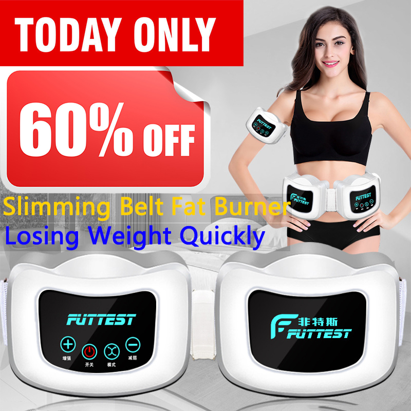 Slimming Belt Quickly efficiently losing weight easily anti-cellulite belly fat burner detox charging intelligent massager image