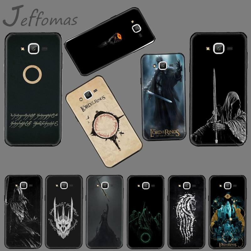 lord of the rings TV USA Cover Black Phone Case For Samsung Galaxy J2 J4 J5 J6 J7 J8 2016 2017 2018 Prime Pro plus Neo duo image