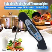 Thermometer Programmed Digital Kitchen Food Coing Tool BBQ Meat Fork Barbecue Probe Type Temperature Gauge NEW