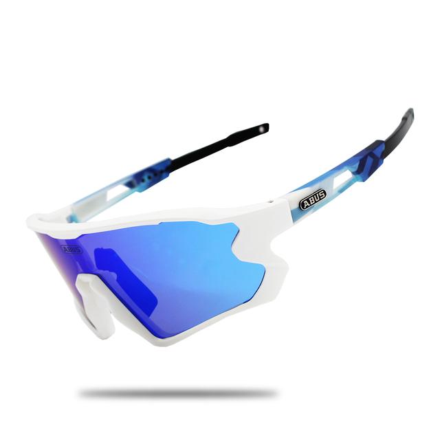 5 Lens polarized Outdoor Sports Bike Bicycle Sunglasses Gafas MTB Cycling Glasses Eyewear Peter Goggles man