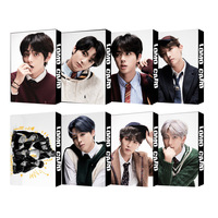 K pop Bangtan Boys kawaii Einzigen Kollektiven 2020 neue Schwarz Schwan LOMO KARTE kpop photocards streu kinder kpop-in Schreibset aus Büro- und Schulmaterial bei