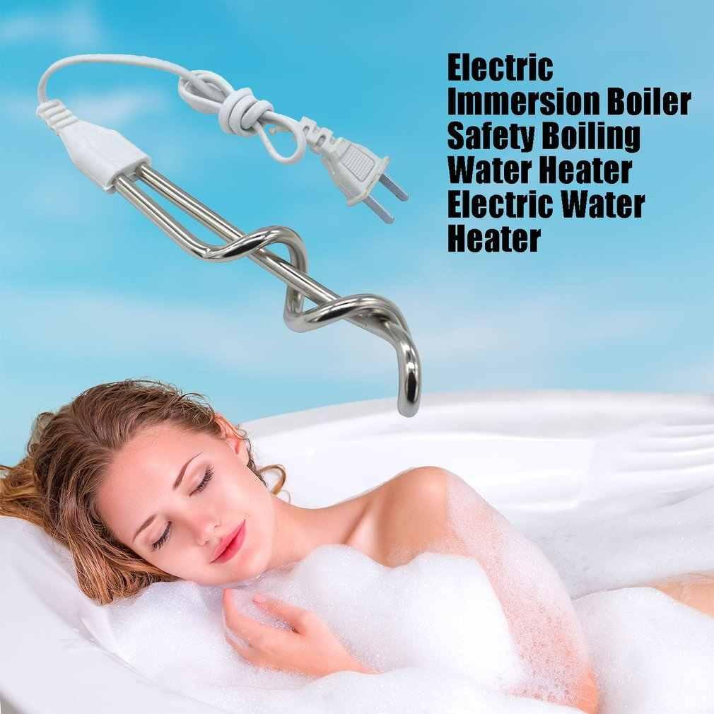 Elektrische Immersion Kessel Sicherheit Kochendem Wasser Heizung Elektrische Wasser Heizung Schnelle Heizung Brennen Bad Heißer Wasser Maschine