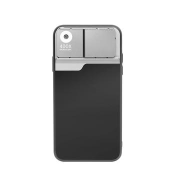 400X Microscopio de lente del teléfono caso para iPhone 11 Pro Max para Android 400X amplificación óptica HD lente de Smartphone de la Lente de la cámara