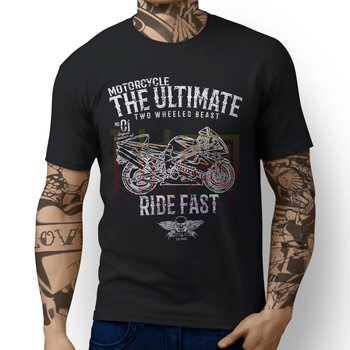 Ultimate Tl1000r Motorbike Art T-shirt Clothes Popular T-Shirt Crewneck 100% Cotton Tees Amazing Short Sleeve Unique