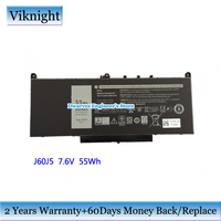 Genuine 7.6V 7237mAh J60J5 Laptop Battery For Dell Latitude E5450 Latitude E7470 0F1KTM] [ 0MC34Y 1W2Y2 242WD 451 BBSY GG4FM