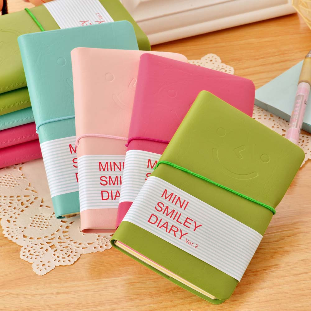 Leather Portable Notebook Pocket Diary Memo Notepad Journal Planner Note Pad Student School Office Stationery Supply