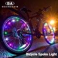 20 LED coloré vélo lumières montagne route vélo lumière cyclisme parle roue lampe vélo accessoires Luces Led Bicicleta Bisiklet
