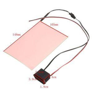 Image 5 - 105mmx148mm 12V A6 EL Panel Light Electroluminescent Light Paper Neon Sheet W/ Actuator