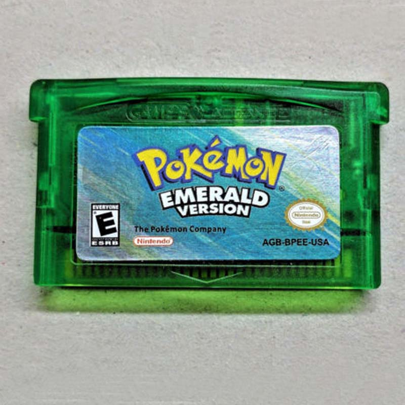 Pokemon Emerald Ruby Sapphire Fire Red Leaf Green GBA Game Boy Advance Game USA image