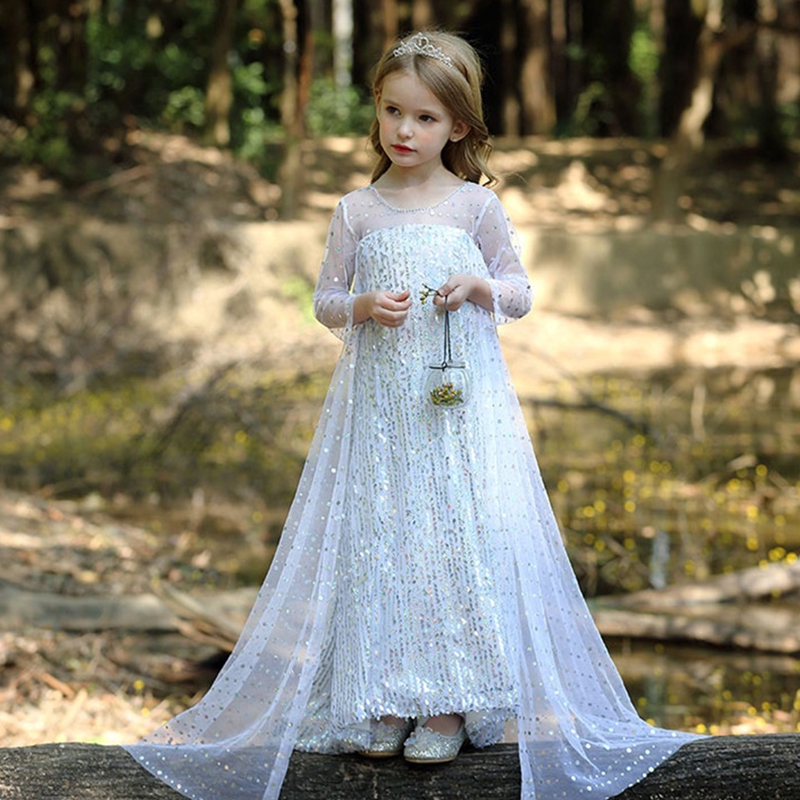 Fancy Girl Dress Cosplay Costume For Kids Dresses Princess Carnival Birthday Party Wear Baby Clothes Teens Chidren Clothing 2