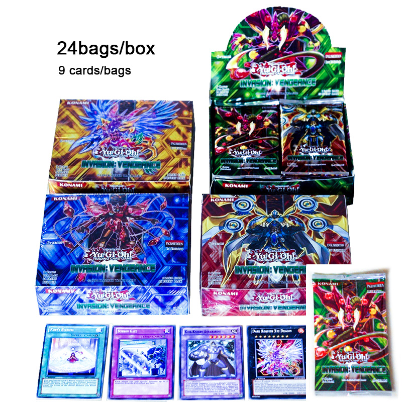 TCG Japan Anime Yu Gi Oh Deck English Card 24 216 Fight Board Game Yugioh Duel Cards Table Toys For Children Collections
