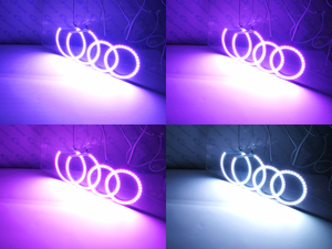 Image 5 - ที่ยอดเยี่ยมRF Remote Bluetooth APP Multi Color Ultra Bright RGB LEDดวงตาแองเจิลสำหรับToyota Avensis T25 2003 2004 2005 Pre Facelift