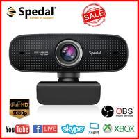 Spedal C922 1080P Volle HD Webcam mit Noise Reduction Mic Gebaut-in Mikrofon Kamera Streaming Für Computer Laptop live