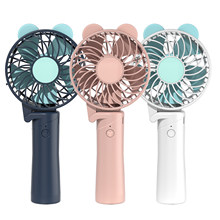 Portable Mini USB Fan Ventilation Foldable Air Conditioning Fans Hand Held Cooling Fan Rechargeable Ventilador(China)