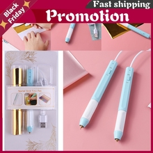Set Sale Usb Powered Heat Foil Pen Two Sizes for Hot Stamping Foil Paper Scrapbooking Diy Paper Cards Craft New 2020