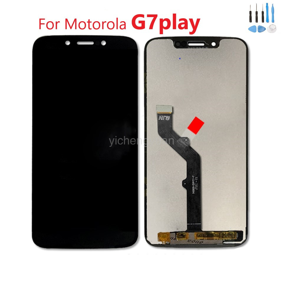For Motorola Moto G7 Play LCD Display XT1952 Screen Digitizer Assembly Replacement For Motorola G7Play Free Shipping