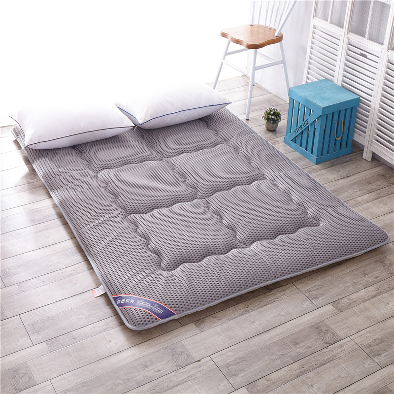 FENWER 4DFoam massage mattress 2CM double single dormitory mattress bamboo fiber linen air mattress