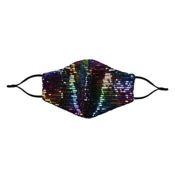 Drop shipping New fashion accessories crystal diamond mesh mask Cosplay ladies nightclub jewelry shiny mask mouthpiece