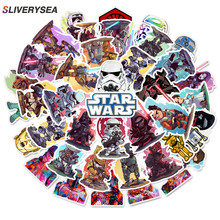 50pcs/set Super Cool Star Wars Stickers for Luggage Laptop Decal Skateboard Moto Bicycle Car Guitar Fridge Sticker