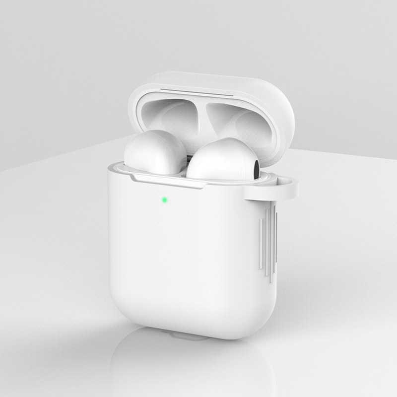 Ông Tai Nghe Chụp Tai Dành Cho Tai Nghe Apple AirPods 2 Ốp Lưng Silicon Tai Nghe Không Dây Bluetooth Air Pods Túi Bảo Vệ Cho AirPod Silm Ốp Lưng