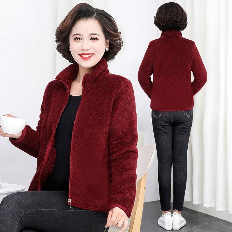 2019 Winter Teddy Coat Women Faux Fur Coat Teddy Bear Jacket Thick Warm Fake Fleece Jacket Fluffy Jackets Plus Size 5XL Overcoat