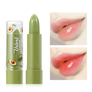 2020 Spring And Summer New Avocado Velvet Jelly Matte Lipstick Non-stick Color Changing Lipstick Makeup Cosmetic TSLM1