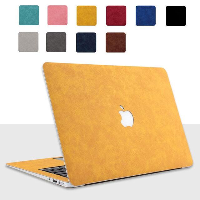 Pu Lederen Beschermhoes Voor Apple Macbook Pro Retina 13.3 Air 13 15 16 11 12 Inch Laptop 2020 Nieuwe a1932 A2289 A2141 Shell Skin