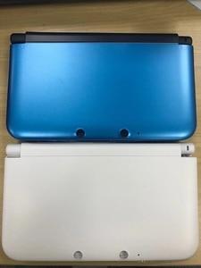 Image 2 - استبدال كامل الإسكان شل الحال بالنسبة نينتندو d 3DS XL/LL وحدة التحكم مع زر مسامير مجموعة أحمر/فضي/أبيض/أزرق/أسود الألوان