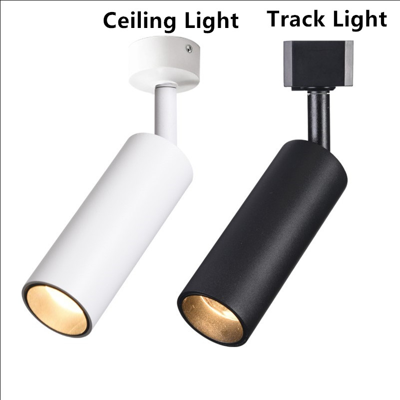 1pcs 10w 15w Dimmable Led Track Light