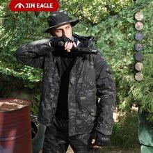 Winter Coat Jackets Windbreaker Fleece Military Tactical Waterproof Hiking Camouflage