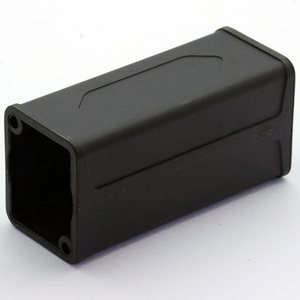 Image 2 - 10pcs Plastic Outter Case for LED Power Connector AC Coupler Adapter Extender connector Speaker Panel mount straight adapter