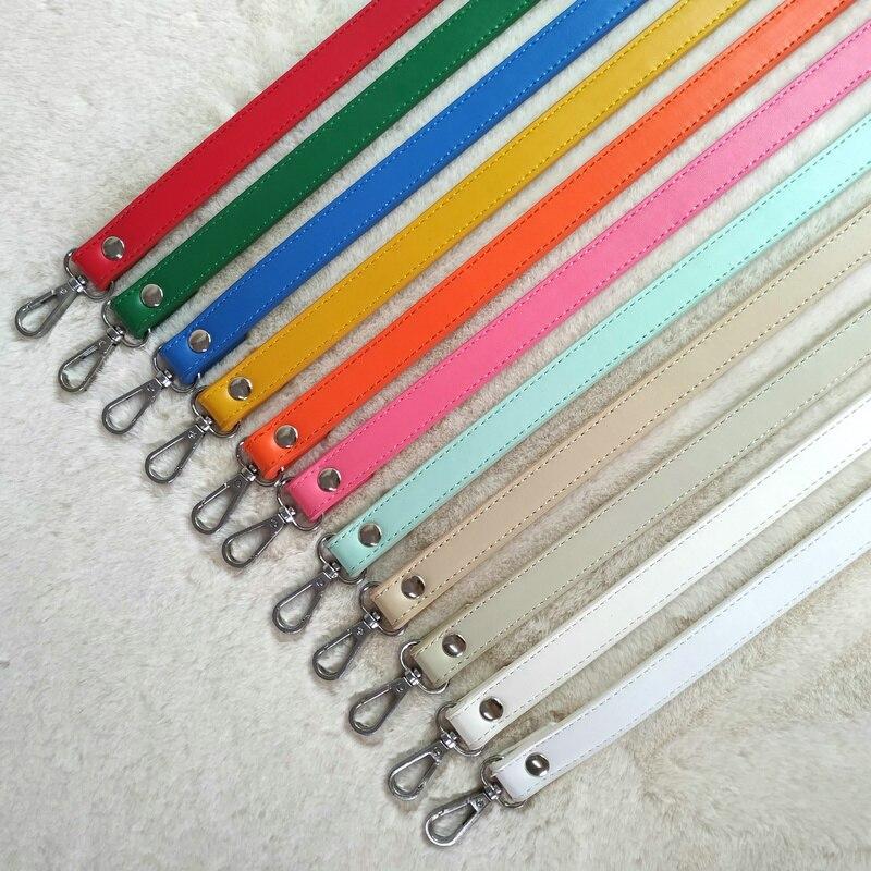 60cm Detachable Bag Handle Replacement Bags Strap Women PU Leather Shoulder Bag Parts Handbag Belts Strap Bag Accessories