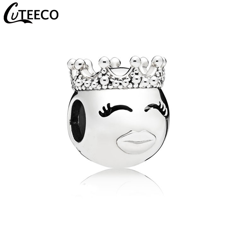 CUTEECO 2019 European Cute Princess DIY Alloy Charm Beads Fit Pandora Bracelet Necklace For Women Jewelry Accessories Wholesale
