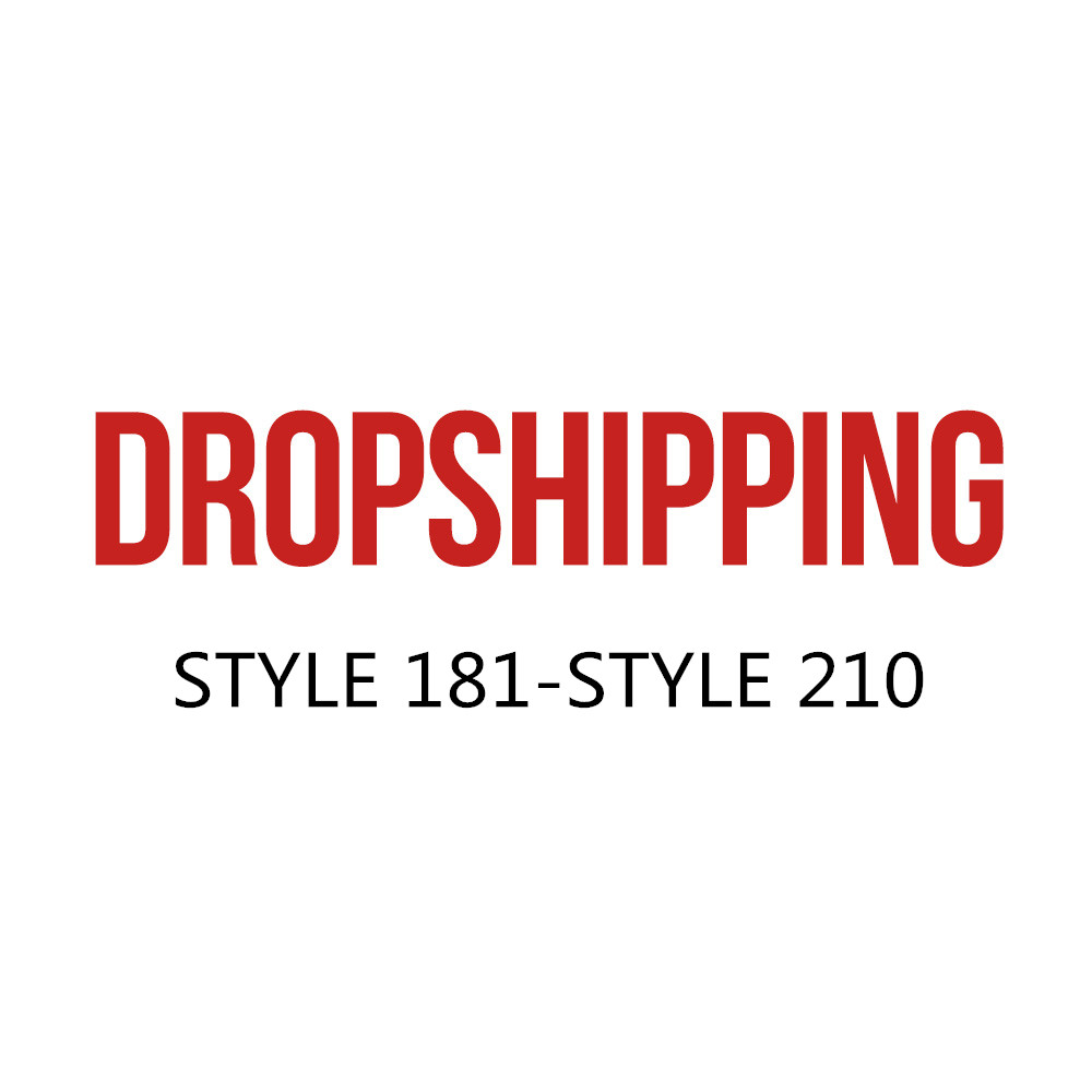 US DROPSHIP LINK ADULT Style181-STYLE 210