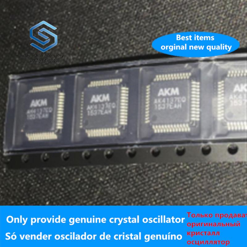 2-10pcs 100% Orginal New Best Qualtiy AK4137 QFP AK4137EQ QFP Fee Shipping