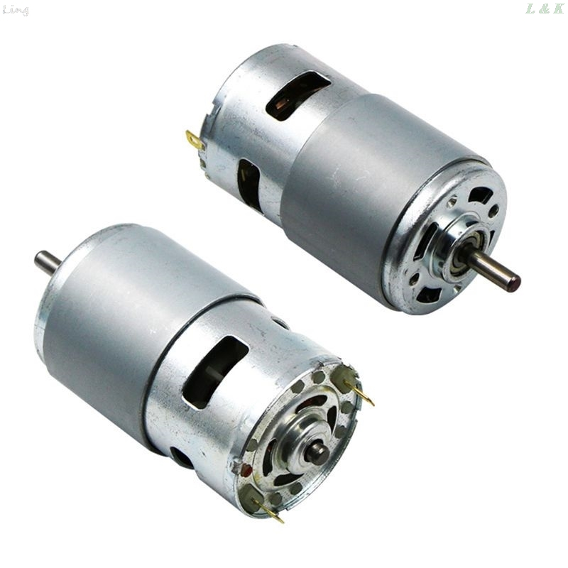 775/795/895 DC Motor DC 12V Ball Bearing Large Torque High Power Low Noise Electronic  Motor