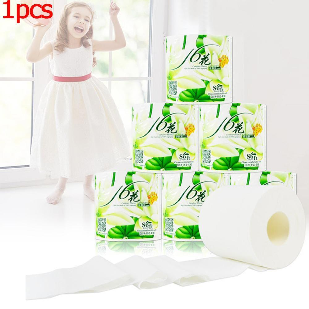 Napkin Tissue White Toilet Roll Paper Soft Safe Skin Friendly Comfortable Picture Cleanning Healthy Toilet Roll Paper