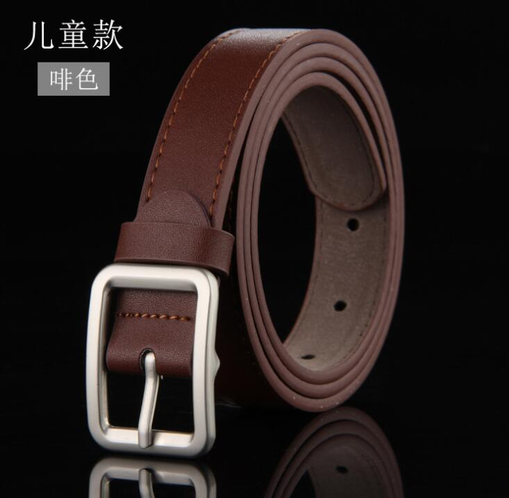 Good Qaulity Pin Buckle Belt For Student School Boys Waist Straps Teens Girls Belts For Jeans Pants Trousers 6 Colors 90 105 Cm