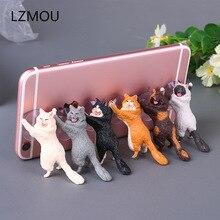 Свадебные подарки для гостей детский телефон держатель милый кот поддержка смолы держатель мобильного телефона подарок для невесты подарок вечерние сувениры