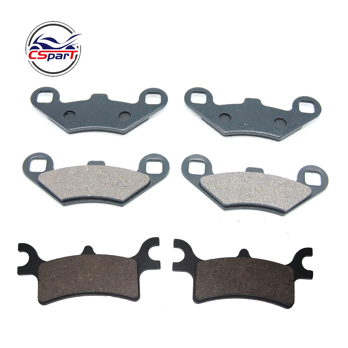 3 Pairs Front Rear Brake Pads For Polaris Sportsman 400 500 700 800 EFI 2003 2004 2005 2006 2007 2008