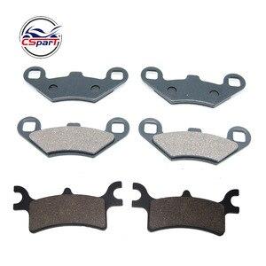 Image 1 - 3 Pairs Front Rear Brake Pads For Polaris Sportsman 400 500 700 800 EFI 2003 2004 2005 2006 2007 2008