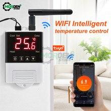 WiFi inteligentny termostat regulator temperatury do wody/elektryczne ogrzewanie podłogowe termoregulator wody z DS18B20/czujnik NTC