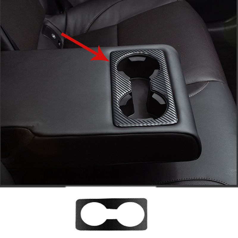 Wasser Tasse Rahmen Dekorative Aufkleber Hinten Armlehne Wasser Tasse Für Mazda CX30 CX-30 2020 2019 Innen Änderung Auto Dekoration