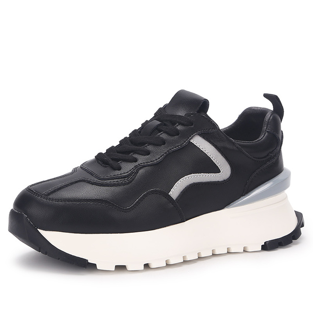 Женские кроссовки на платформе 2