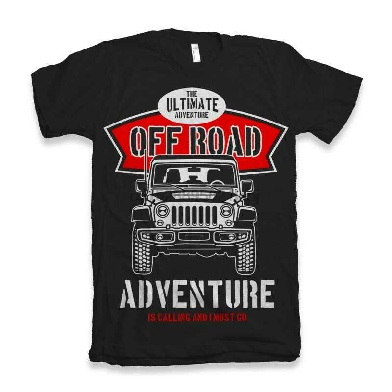 Off Road camiseta para hombre 4x4 Land 90 110 defender dvx divertido cuatro 4
